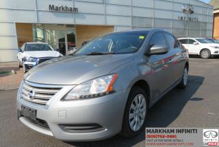 Used 2013 Nissan Sentra 1.8 S Heated Seats, Bluetooth, Cruise Control for sale in Unionville, ON