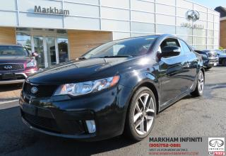 Used 2010 Kia Forte Koup 2.4L SX AT, Sunroof, Heated Seats, Bluetooth for sale in Unionville, ON