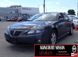 Used 2008 Pontiac Grand Prix Base LOW KM|WELL MAINTAINED|AS-IS SUPERSAVER| for sale in Scarborough, ON