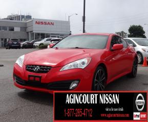 Used 2011 Hyundai Genesis Coupe 2.0T 6 SPD|LOW KM|LEATHER|SUNROOF|BLUETOOTH| for sale in Scarborough, ON