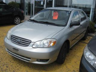 Used 2003 Toyota Corolla Ce Gar for sale in Saint-hyacinthe, QC