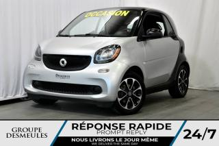 Used 2016 Smart fortwo PASSION+CRUISE CONTROL+AUTOMATIQUE+TURBO for sale in Laval, QC