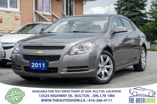 Used 2011 Chevrolet Malibu 1 owner No Accidents Leather Sunroof Certified for sale in Bolton, ON