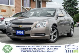 Used 2008 Chevrolet Malibu 53K 1 OWNER GM SERVICED LEATHER NEW MICHELINS LT2 for sale in Caledon, ON