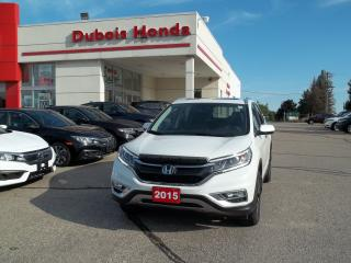 Used 2015 Honda CR-V Touring for sale in Woodstock, ON