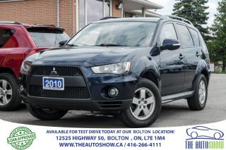 Used 2010 Mitsubishi Outlander 7 SEAT AWD V6 REMOTE START CERTIFIED ACCIDENT FREE for sale in Caledon, ON