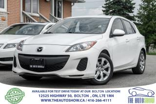 Used 2012 Mazda MAZDA3 5 SPD 5DR 1 OWNER NO ACCIDENTS CERTIFIED for sale in Bolton, ON