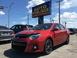 Used 2014 Toyota Corolla Berline 4 portes CVT S for sale in Laval, QC