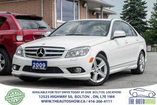 Used 2009 Mercedes-Benz C 300 AWD NO ACCIDENTS CERTIFIED SERVICE RECORDS MINT for sale in Caledon, ON