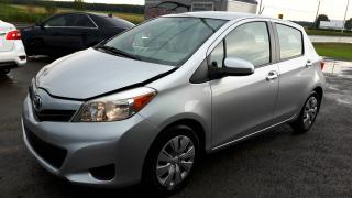 Used 2012 Toyota Yaris hatchback,automatique,accidenté légé !!! for sale in Saint-henri-de-levis, QC