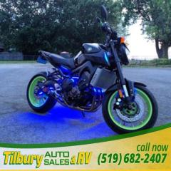 Used 2016 Yamaha FZ-09 847cc, DOHC, 4- valve engine. for sale in Tilbury, ON