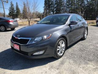 Used 2012 Kia Optima EX / GDI BACK UP CAMERA LEATHER for sale in Gormley, ON
