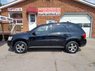 Used 2008 Pontiac Torrent Leather Sunroof Chrome Alloys for sale in Bowmanville, ON