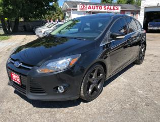 Used 2012 Ford Focus Titanium/Automatic/Leather/Roof/Navi/Bluetooth for sale in Scarborough, ON