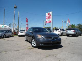 Used 2007 Nissan Altima AUTO LEATHER SUNROOF ALLOY SAFETY ETEST for sale in Oakville, ON