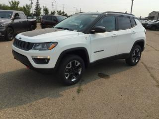 New 2018 Jeep Compass 4X4 TRAILHAWK Leather Interior Touchscreen Bluetooth Back-up Camera - Edmonton for sale in Edmonton, AB