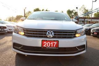 Used 2017 Volkswagen Passat Trendline+ BACKUP CAM ACCIDENT FREE for sale in Brampton, ON