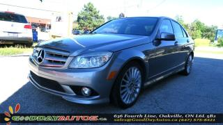 Used 2010 Mercedes-Benz C250 LOW KM|LEATHER|ALLOYS|BLUETOOTH|CERTIFIED for sale in Oakville, ON