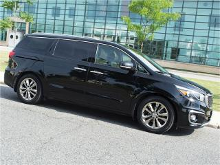 Used 2016 Kia Sedona SXL|NAVI|DUAL DVD|360 CAMERA|PANOROOF for sale in Scarborough, ON