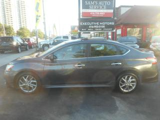 Used 2014 Nissan Sentra SR / UBER READY / NAV / BACK UP CAM / ALLOYS / for sale in Scarborough, ON