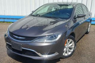 Used 2015 Chrysler 200 C *LEATHER-SUNROOF-NAVIGATION* for sale in Kitchener, ON