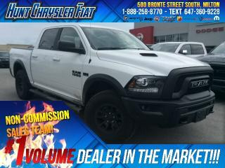 Used 2018 RAM 1500 REBEL/BLACKOUT/4X4/8.4/CAM/PUSH BTN & MORE!!! for sale in Milton, ON
