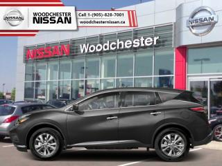 New 2018 Nissan Murano FWD S  - Cloth Interior - $205.20 B/W for sale in Mississauga, ON