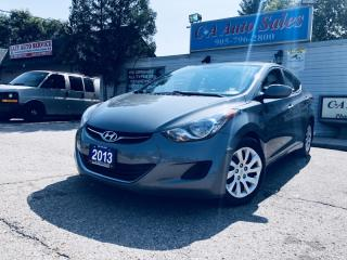 Used 2013 Hyundai Elantra 4dr Sdn  $99 dollars Bi Weekly O.A.C remote car starter ! for sale in Brampton, ON