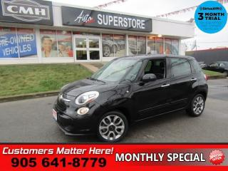 Used 2014 Fiat 500 L Sport  NAV PANO-ROOF HTD-SEATS PWR-LUMBAR ALLOYS for sale in St. Catharines, ON