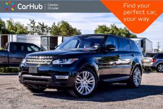 Used 2016 Land Rover Range Rover Sport Td6 HSE|4x4|Diesel|Navi|Pano Sunroof|Backup Cam|Bluetooth|Leather|20