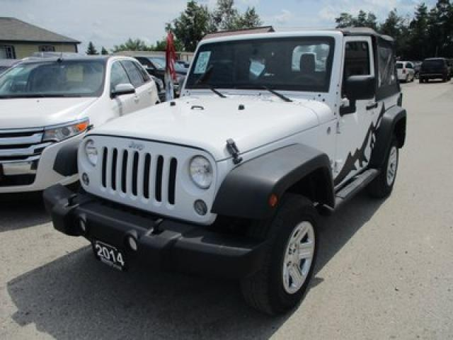 2014 Jeep Wrangler 'FUN TO DRIVE' SPORT EDITION 5 PASSENGER 3.6L - V6.. 4X4.. CD/AUX INPUT.. REMOVABLE SOFT TOP..