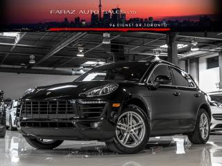 Used 2016 Porsche Macan S|NAVI|REAR CAM|PANO|COOLED SEATS|KEYLESS START for sale in North York, ON