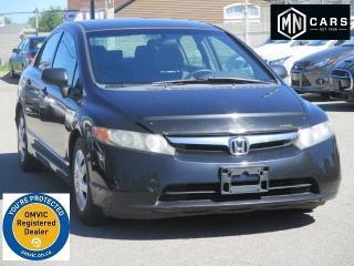 Used 2006 Honda Civic DX Sedan LOW MILEAGE for sale in Ottawa, ON