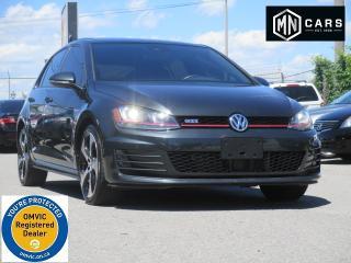 Used 2016 Volkswagen GTI Autobahn 6A 4-Door for sale in Ottawa, ON