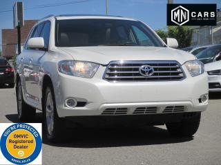 Used 2010 Toyota Highlander Limited 4WD NAVI - 7SEATS for sale in Ottawa, ON