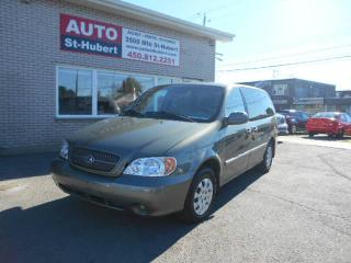 Used 2005 Kia Sedona LX for sale in Saint-hubert, QC