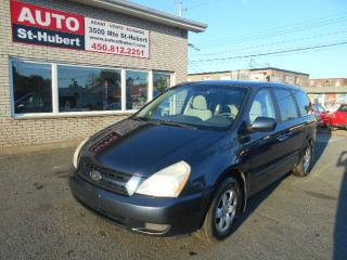 Used 2006 Kia Sedona LX ** 7 PLACES ** for sale in Saint-hubert, QC