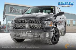 New 2018 RAM 1500 SLT 2018 RAM 1500 Big Horn Black Package 5.7L HEMI V8 4x4 Crew Cab 5' 7