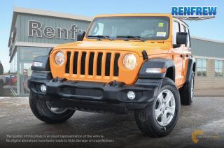 New 2018 Jeep Wrangler Unlimited 2018 Jeep Wrangler Sport Unlimited 4x4 SUV for sale in Renfrew, ON