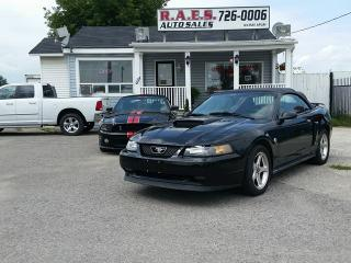 Used 2004 Ford Mustang GT PREMIUM CONVERTIBLE 40TH ANNIVERSARY EDITION for sale in Barrie, ON