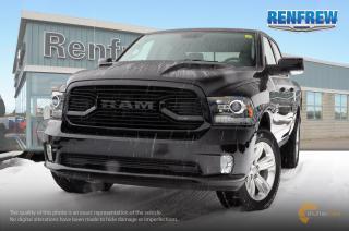 New 2018 RAM 1500 2018 RAM 1500 Sport 5.7L HEMI V8 4x4 Crew Cab 5' 7