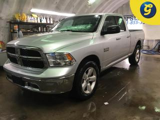 Used 2014 Dodge Ram 1500 SLT*QUADCAB*4X4*NAVIGATION*U CONNECT HANDS FREE VOICE CONNECT/STEERING WHEEL CONTROL*HEATED MIRRORS*TRAILER BRAKE CONTROL*TOW/HAUL MODE*AUTO HEADLIGHT for sale in Cambridge, ON