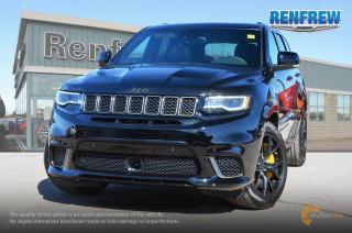 New 2018 Jeep Grand Cherokee 2018 Jeep Grand Cherokee Trackhawk 6.2L HEMI V8 4x4 SUV for sale in Renfrew, ON