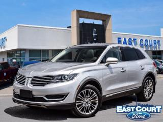 Used 2016 Lincoln MKX Reserve, $129/wk, roof, NAV, bluetooth, hot seats for sale in Scarborough, ON