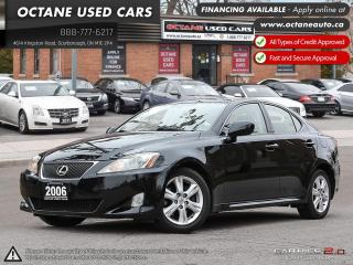 Used 2006 Lexus IS 250 for sale in Scarborough, ON
