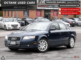Used 2006 Audi A4 3.2 ACCIDENT FREE! 2 YEAR WARRANTY! for sale in Scarborough, ON