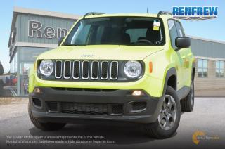 New 2018 Jeep Renegade 2018 Jeep Renegade Sport 4x4 SUV for sale in Renfrew, ON