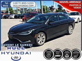 Used 2015 Chrysler 200 Ltd, Caméra Recul for sale in Gatineau, QC