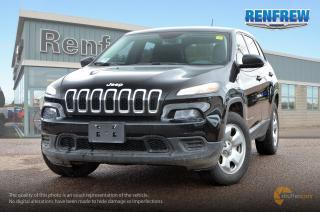 Used 2016 Jeep Cherokee 2016 Jeep Cherokee Sport 4x4 SUV for sale in Renfrew, ON