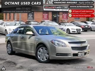 Used 2012 Chevrolet Malibu LT PLATINUM EDITION for sale in Scarborough, ON